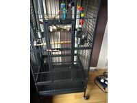 Nearly new big parrot cage