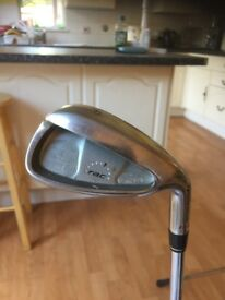 taylor made rac HT oversize golf clubs 5 to pitching wedge ,reg shafts