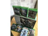 Brand new Xbox one s white 1tb + games