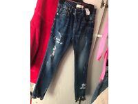 Girls Zara jeans age 6