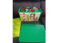 Duplo lego and board