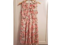 Red herring floral dress size 12