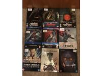 Marvel Blu-Ray Steelbooks (open)