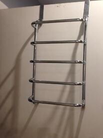 Over the door rail, drying rack