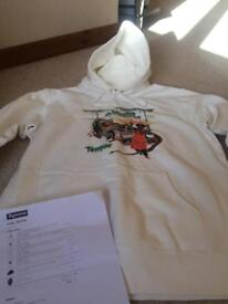 Supreme X Barrington Levy & Jah Life Shaolin Temple Hooded Sweatshirt