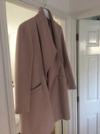 Pale/ dusky pink Next winter coat
