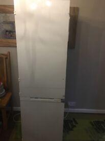 White fridge freezer (intergrated)