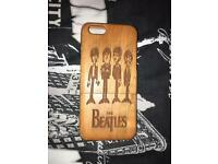BEATLES IPHONE 6 or 6s WOODEN CASE (one of one)