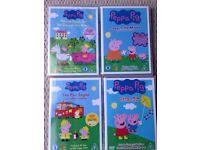 14 peppa pig DVDs for sale