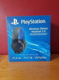 PlayStation wireless headset