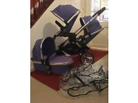iCandy Peach 2 Double Pram Pushchair CAN POST