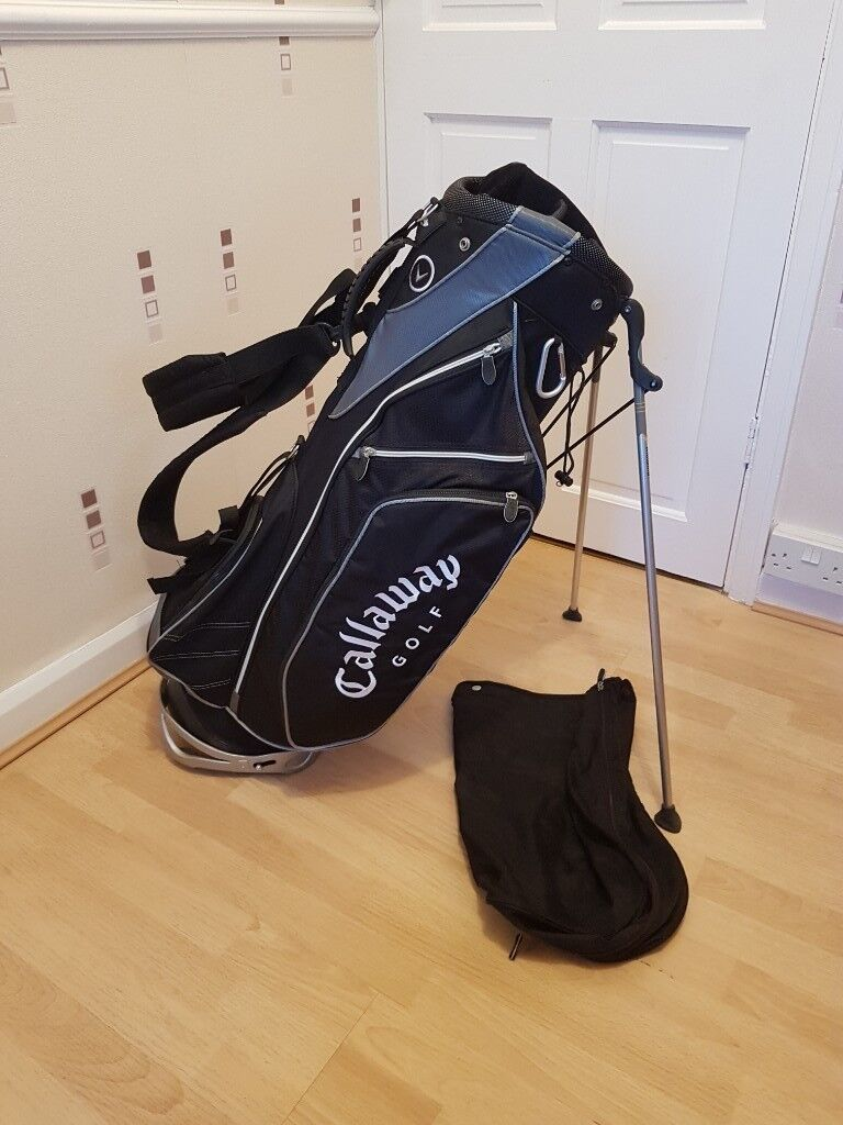 Used Light Weight Callaway Carry Golf Bag Very Good Condition
