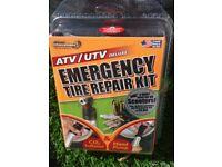 Deluxe Scooter/ATV/UTV Emergency Tire repair kit