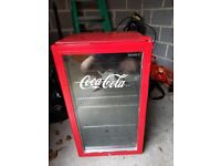 Almost new Husky Coke Fridge