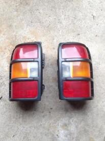 Mitsubishi Pajero shogun complete rear lights
