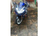 Suzuki Gsxr 1000 k1 blue~white