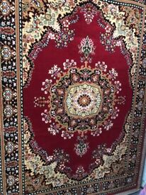 POLYPROPYLENE ORIENTAL PERSIAN RUG DIFFERENT SIZES AND COLOURS AVAILABLE
