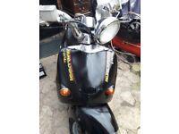 Aprilia habana scooter
