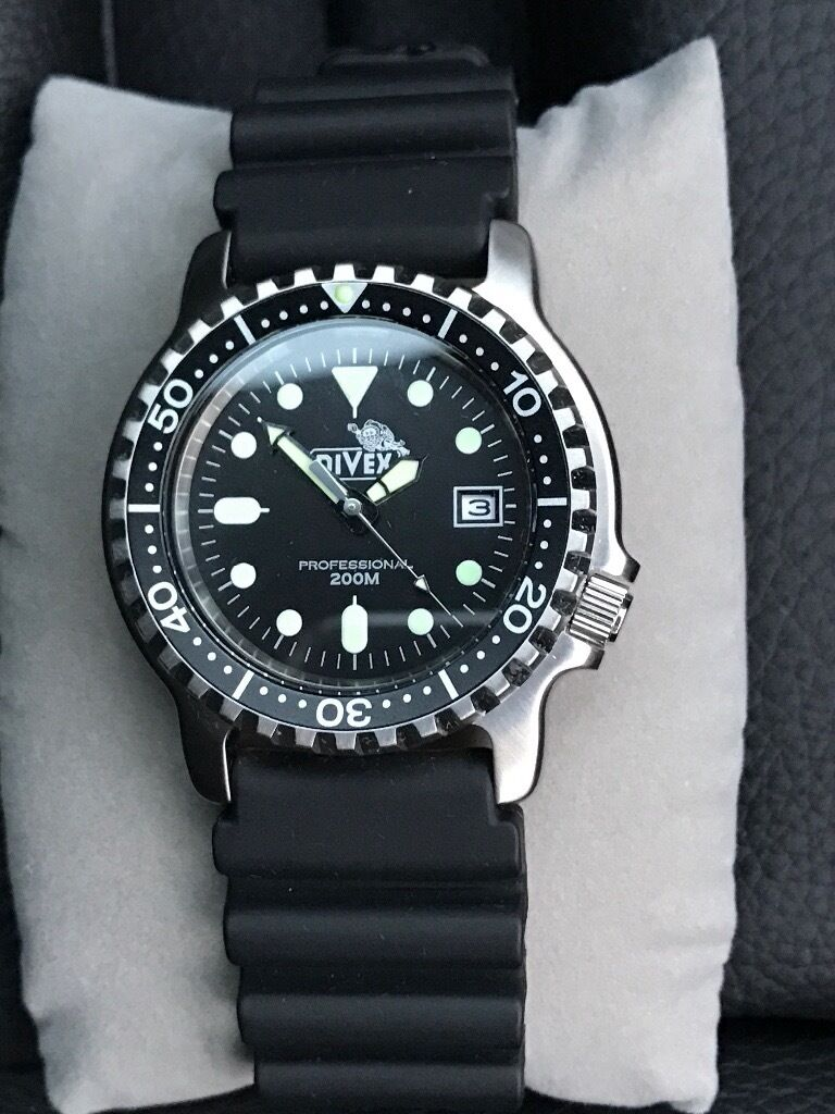 Divex Professional Divers Watch New Unwanted Gift In