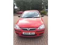RED 2005 CORSA 1.2 SXI TWINPORT, REALLY NICE LOOKING CAR, PERFECT FOR A FIRST DRIVER