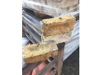 Reclaimed yellow bricks