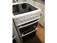Beko ceramic top electric cooker 500mm wide £120