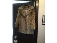 Marks and Spencer leopard print Faux fur