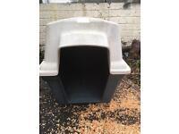 X large plastic dog kennel