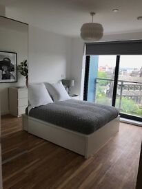 Luxury one bedroom apartment with Juliet balcony and a parking space