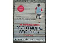 An introduction to Developmental Psychology. Second edition (2011) Slater and Bremner.