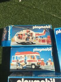 Job lot vintage playmobil boxed in good condition