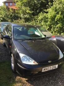 03 reg ford focus 1.6cc petrol full mot