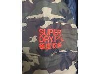 Men's Superdry Camo Windbreaker jacket