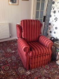 Dual Motor Recliner Chair