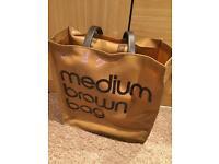 Medium brown Bloomingdales bag