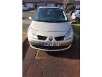 Renault scenic 2008 year 1.6 automatic 2 keys excellent condition sale or exchange for van