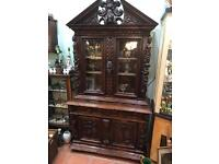 French display cabinet.