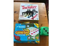 Classic Garden games - twister & chutes/ladders