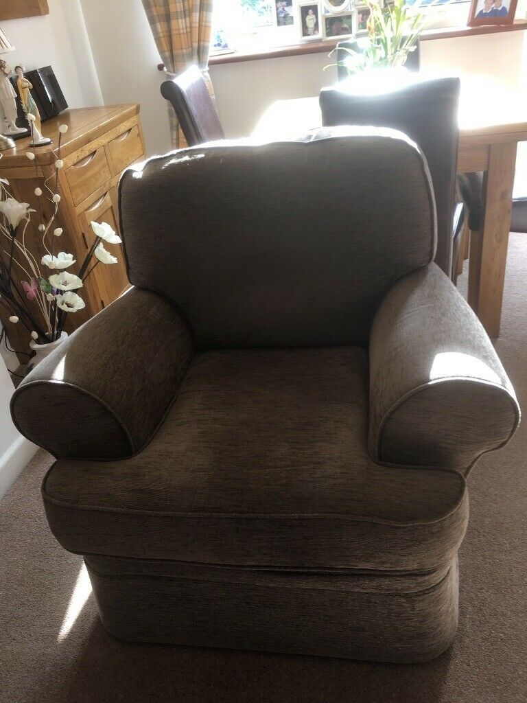 Marks & Spencer's brown armchair for sale. Excellent ...