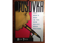 Tusovka - Survey of Underground Rock and Punk from USSR/Soviet Union pre-1990 - Rare and Fine