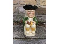 Tony Wood Staffordshire Toby Jug