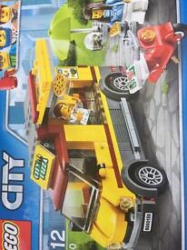 Lego city pizza truck