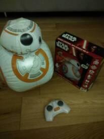 Star wars BB8 remote control cist £35
