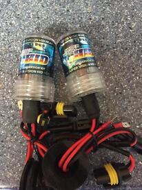 H.I.D xenon bulb 4300 K -H7 (replacement bulbs)