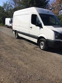 2013 62vw crafter mwb cr35 tdi 109 free uk delivery no vat £4750