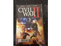 Civil war comic