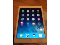 iPad Air 1st generation, 16gb, WiFi only, white.