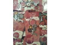 Job lot x150 I love my dog key rings heavy metal quality brand new packaged