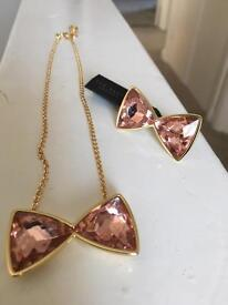 Ted baker ring and necklace set