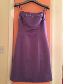 Purple dress ~size 12